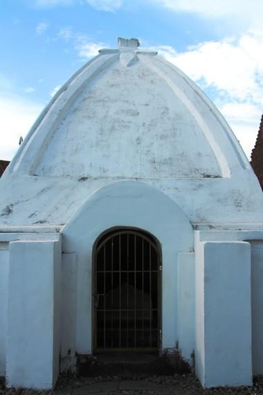 Makam pembesar Kerajaan Tallo yang tidak dapat dimasuki sembarang orang