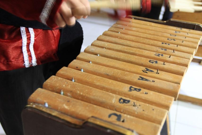 Nada pada alat musik Kolintang