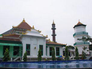 Masjid Agung Palembang, Masjid Sultan Perpaduan Tiga Kebudayaan