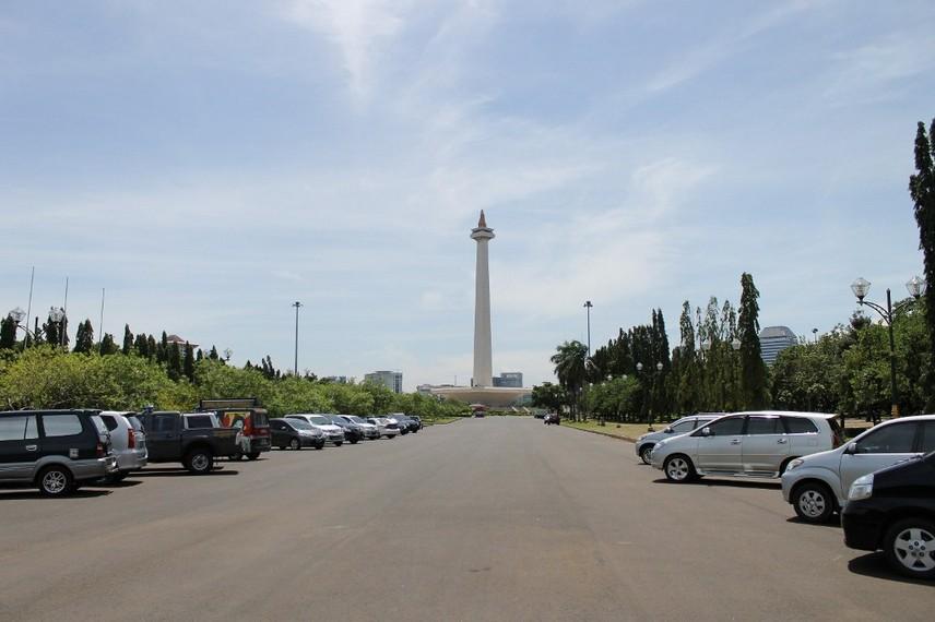 Monumen Nasional yang menjadi ikon kota Jakarta