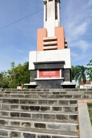 Monumen proklamasi kemerdekaan RI di Tamansari