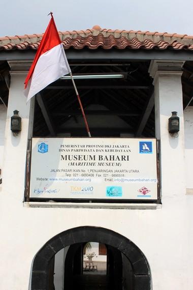 Museum Bahari yang terletak di Jalan Pasar Ikan No. 1 Sunda Kelapa, Jakarta