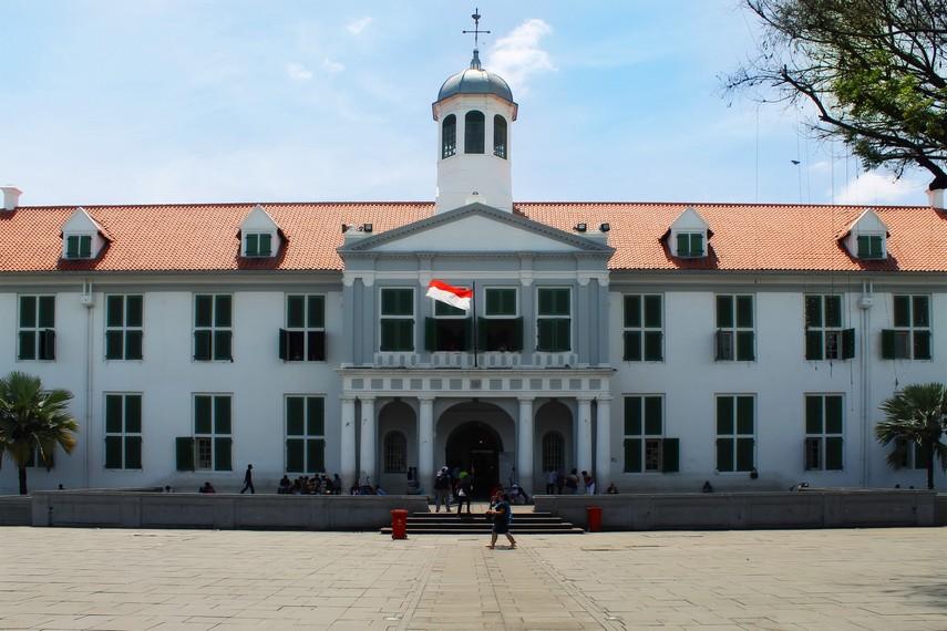 Museum Fatahillah terletak di Kawasan Kota Tua Jakarta