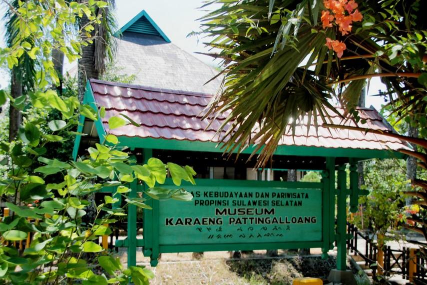 Museum Karaeng Pattingaloang yang terdapat di kawasan Benteng Somba Opu