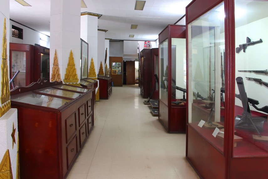 Museum Perjuangan dahulu merupakan rumah milik seorang pengusaha Belanda bernama Wilhelm Gustaf Wissner