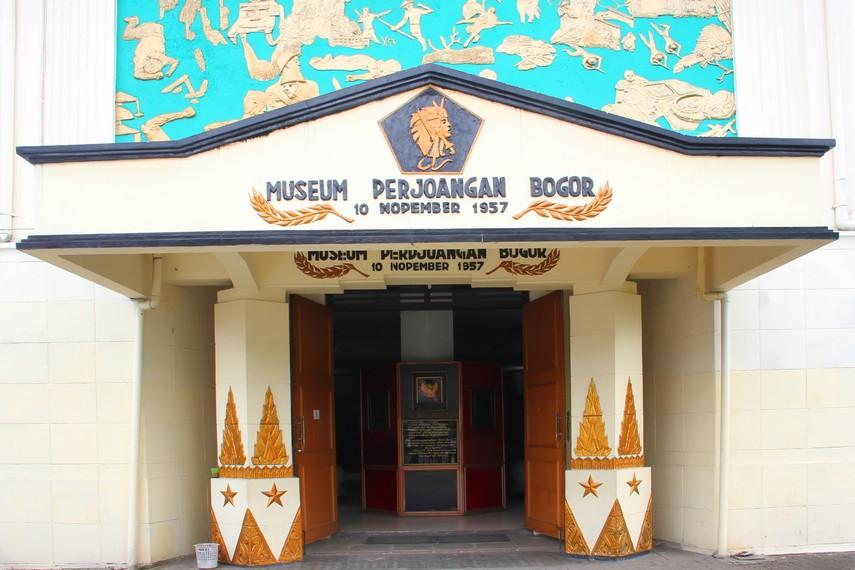 Museum Perjuangan terletak di Jalan Merdeka No 56, Kota Bogor