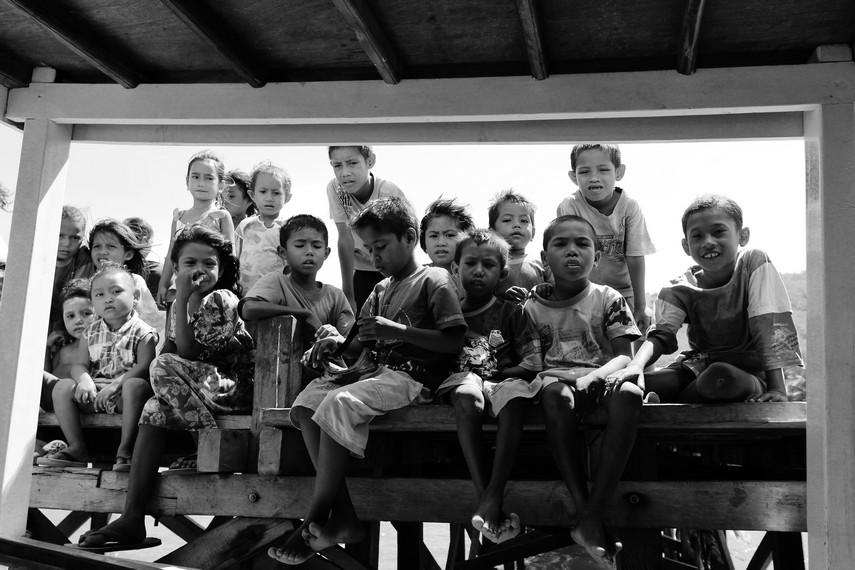 Anak anak Desa Komodo