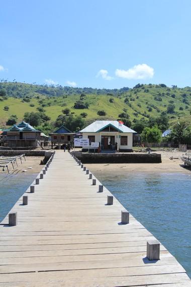 Dermaga Desa Komodo