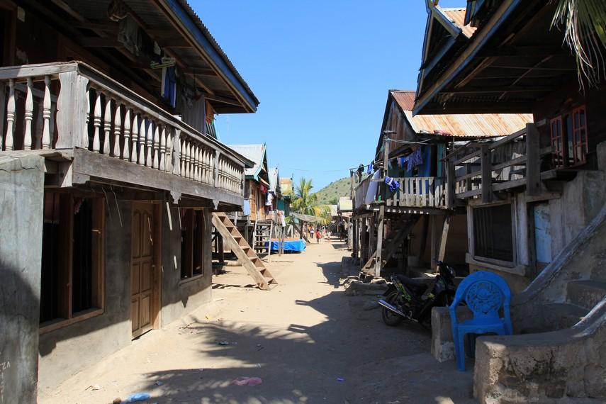 Pemukiman Desa Komodo
