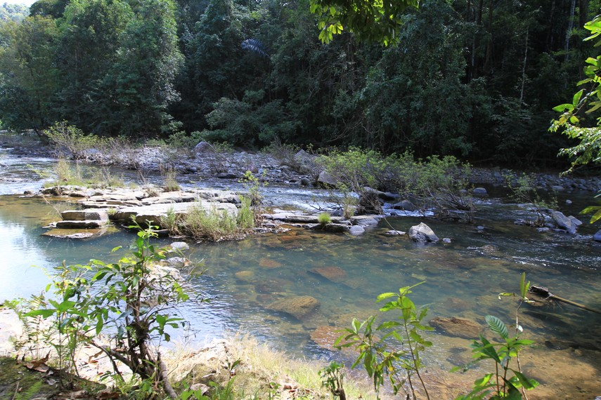 Sungai aliran Cunca Wulang