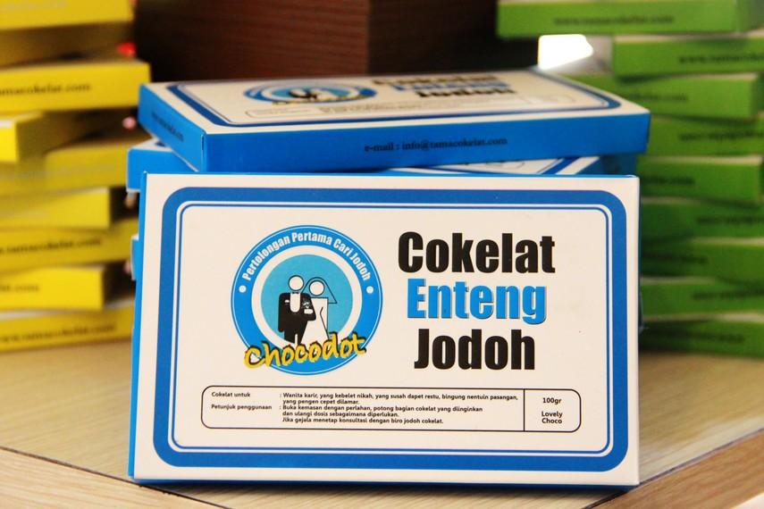 Nama-nama coklat yang unik menjadi identitas bagi chocodot khas Garut