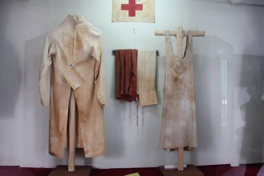 Pakaian yang masih bersimbah darah masih terpajang di Museum Perjuangan