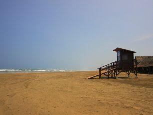 Luasnya Pantai Bagedur di Banten Selatan