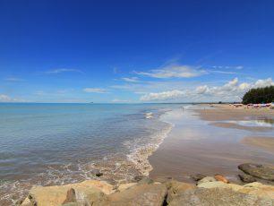 Pantai Gandoriah, Primadona Wisata Masyarakat Pariaman