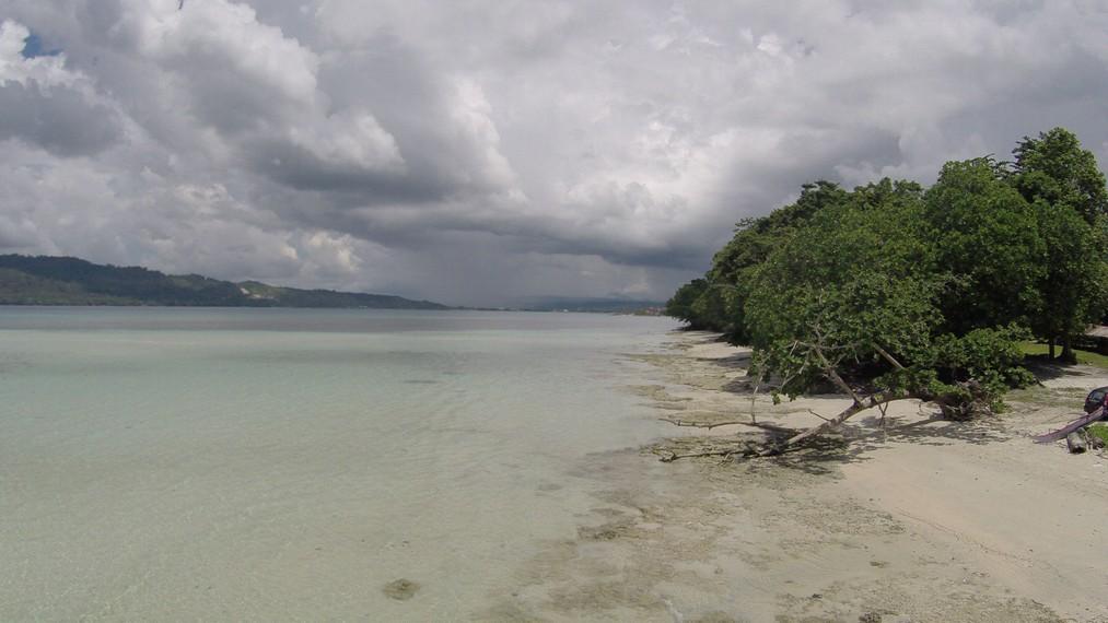 Pantai Sopapei yang terletak tidak jauh dari Pantai Natsepa