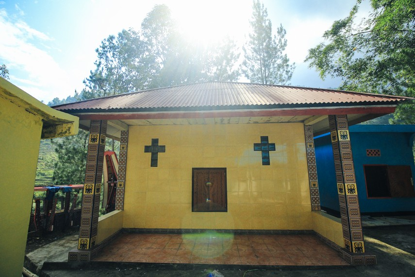 Patane atau kuburan berbentuk rumah di Tana Toraja