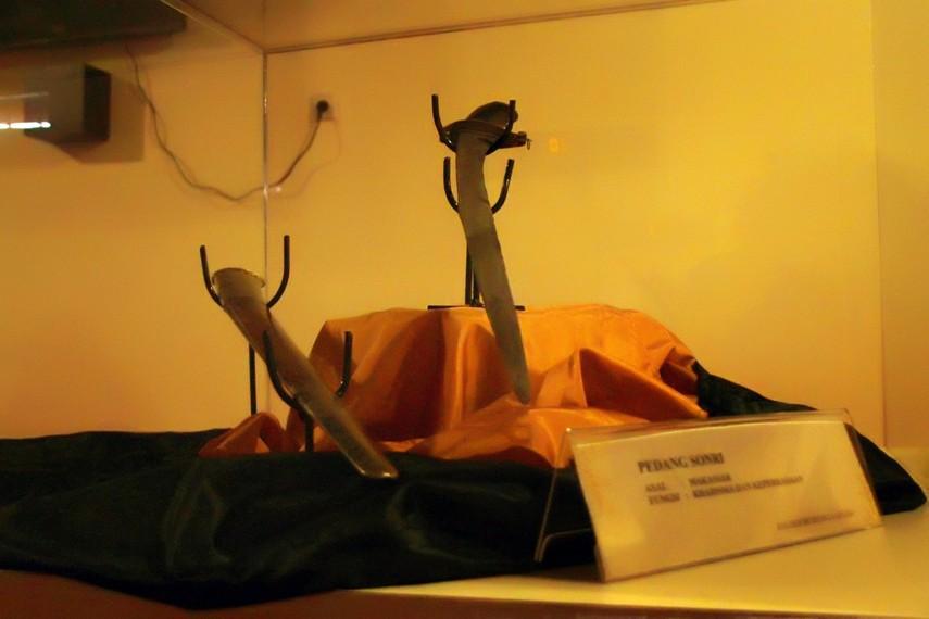 Pedang Sonri, simbol kharisma dan keperkasaan dari sang pemilik
