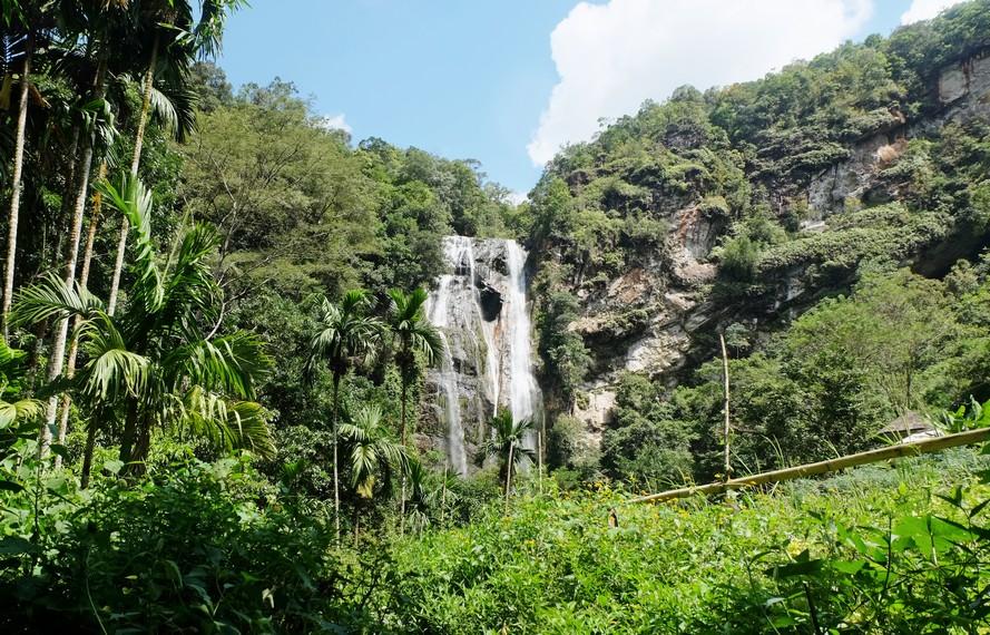 Pengunjung harus mengeluarkan tenaga cukup ekstra karena diperlukan trekking di Hutan Mbeliling