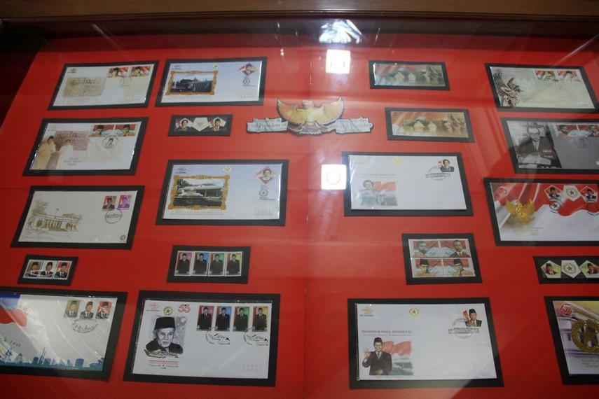 Perangko edisi kepala Negara Indonesia