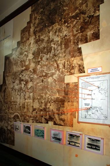 Peta berbagai benteng peninggalan zaman kerajaan di Makassar