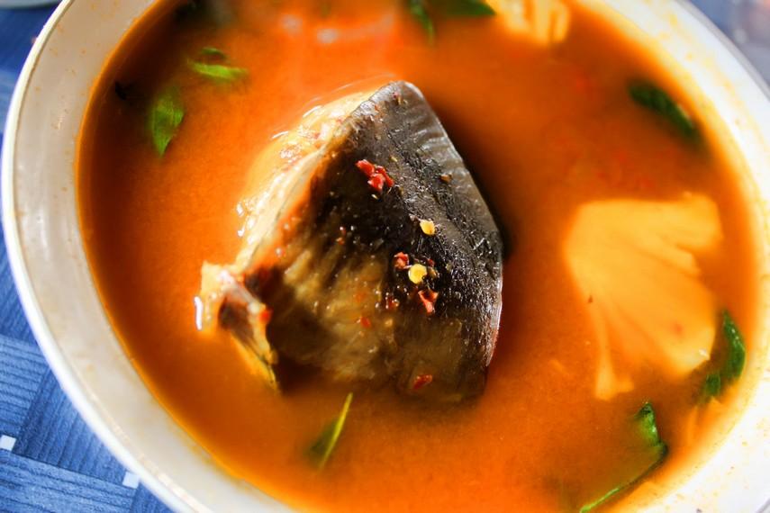 Pindang khas Lampung identik dengan bahan dasar ikan