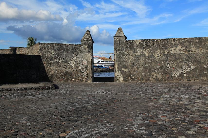 Pintu masuk Benteng Kalamata