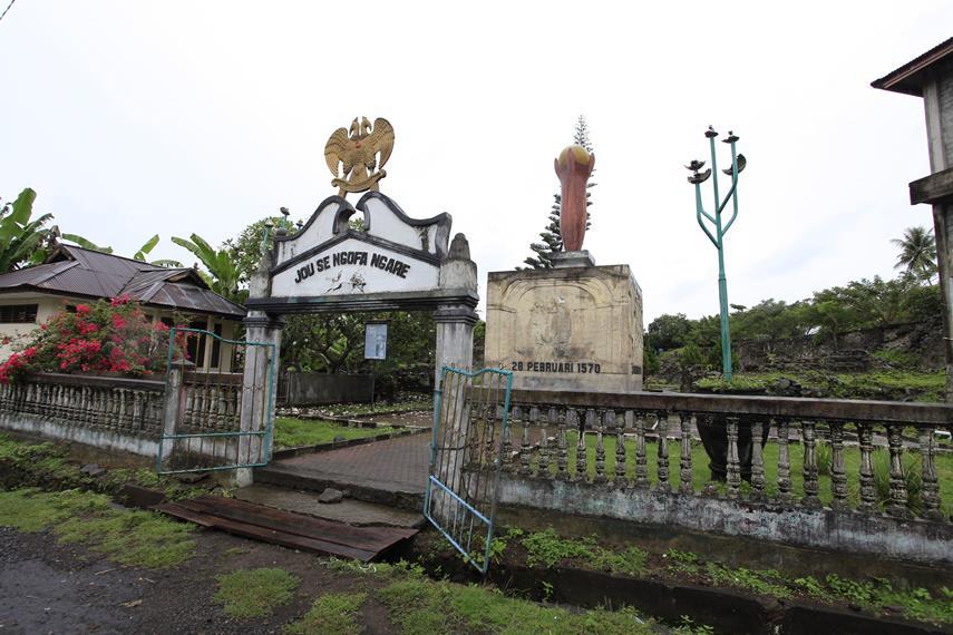 Keberanian Dalam Setiap Jengkal Benteng Kastela Indonesia Kaya