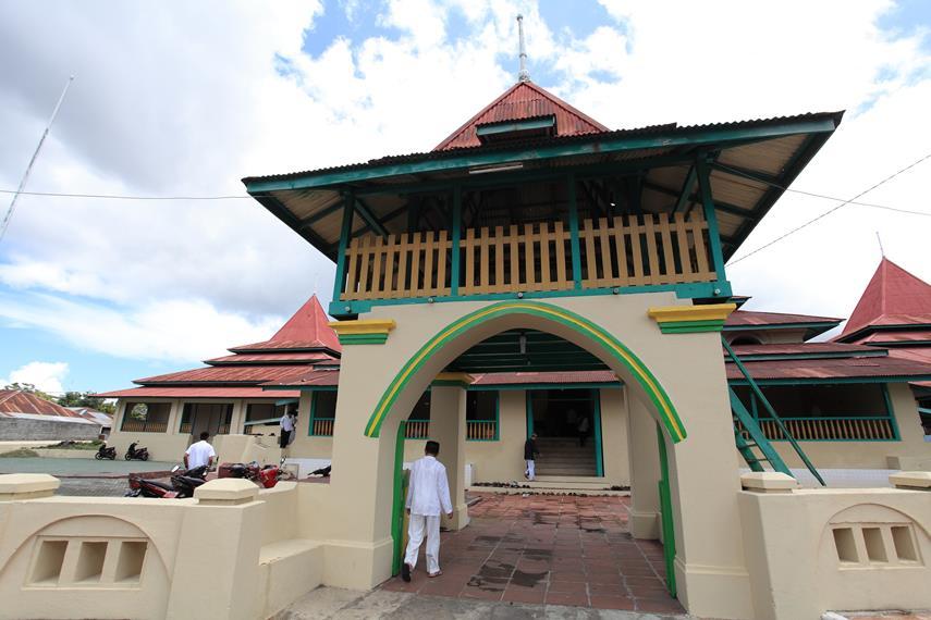 Sultan Mosque of Ternate Indonesia