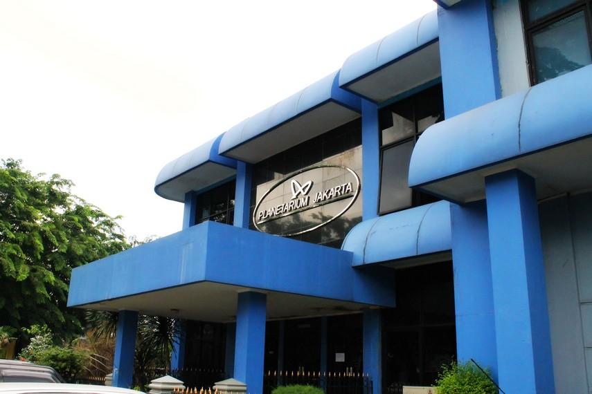 Planetarium Jakarta yang letaknya berada dalam Komplek Taman Ismail Marzuki