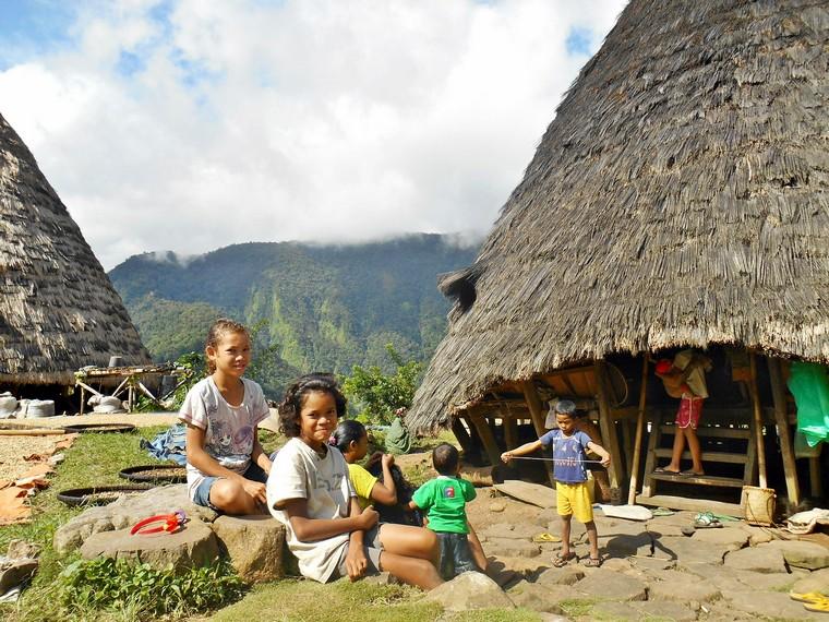 Portrait kehidupan anak-anak  Desa Wae Rebo
