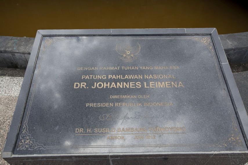 Prasasti di Monumen J. Leimena