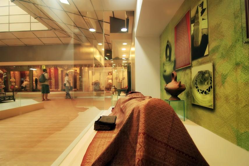 Prosesi upacara kematian Lampung menjadi salah satu yang bisa disaksikan pengunjung di museum ini