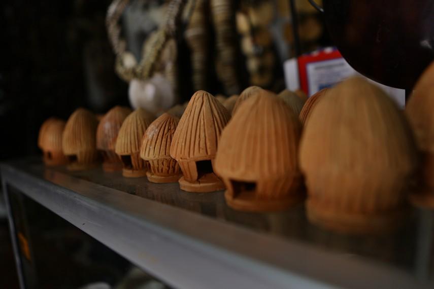 Replika Honai, rumah khas orang Wamena
