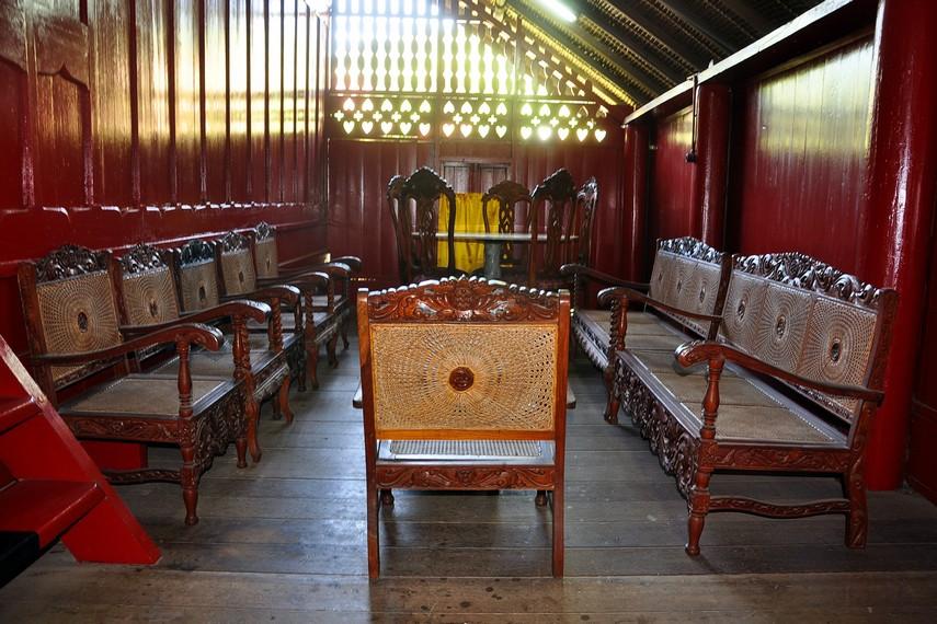 Ruang tamu yang digunakan Teuku Umar dan para pejuang Aceh untuk rapat rahasia