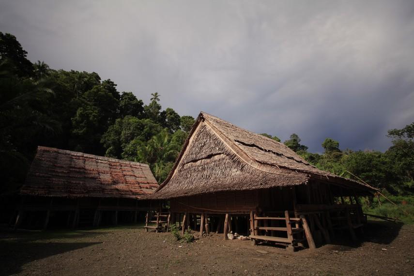 Rumah adat Suku Naulu