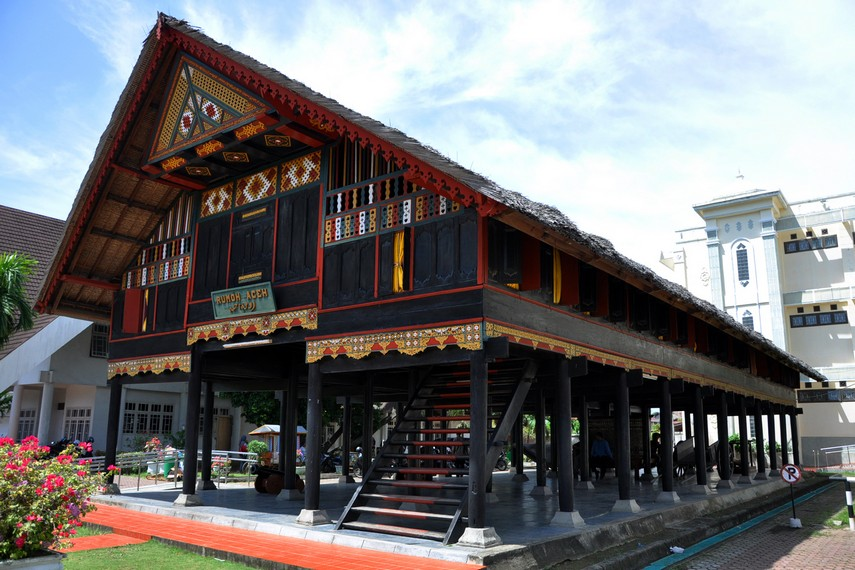 Rumah ini dipamerkan dalam De Koloniale Tentoonsteling tahun 1914 di Semarang dan menjadi stand terbaik