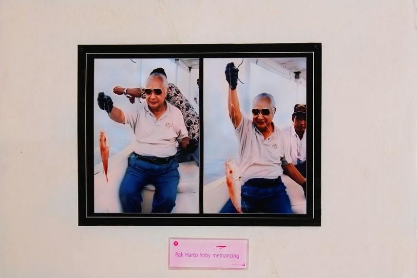 Salah satu ruang di Museum Purna Bakti Pertiwi menyimpan sejarah perjalanan hidup Soeharto