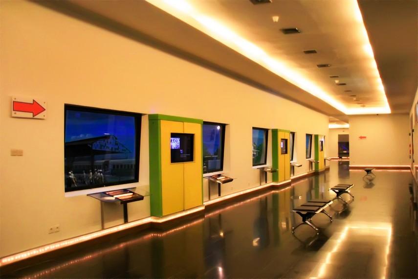 Salah satu ruang yang terdapat diorama dan dilengkapi fasilitas audio visual