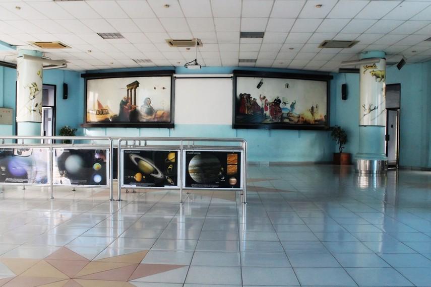 Salah satu ruangan di dalam Planetarium Taman Ismail Marzuki