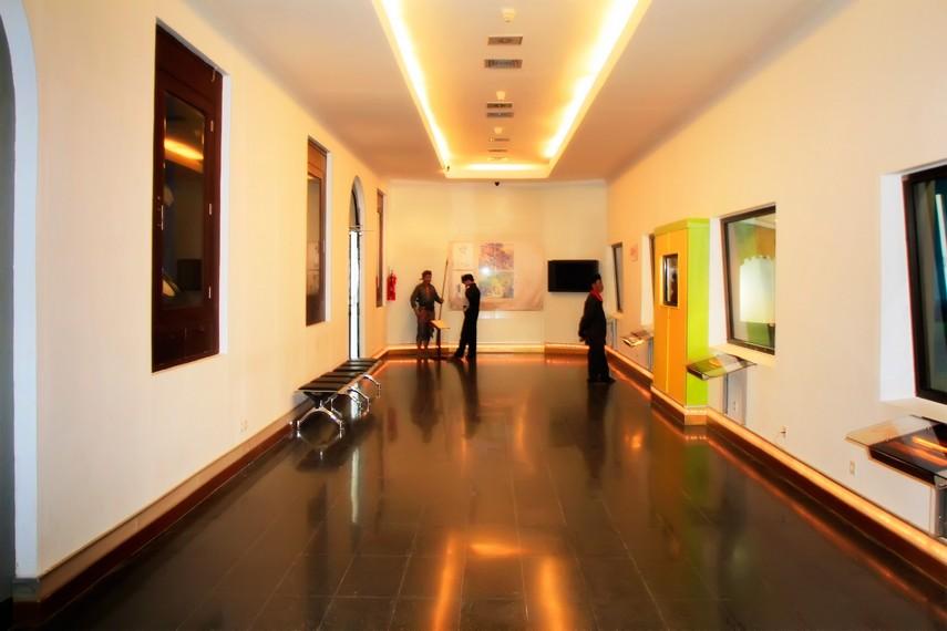 Salah satu ruangan yang terdapat diorama-diorama perjuangan yang ada di Museum Benteng Vredeburg
