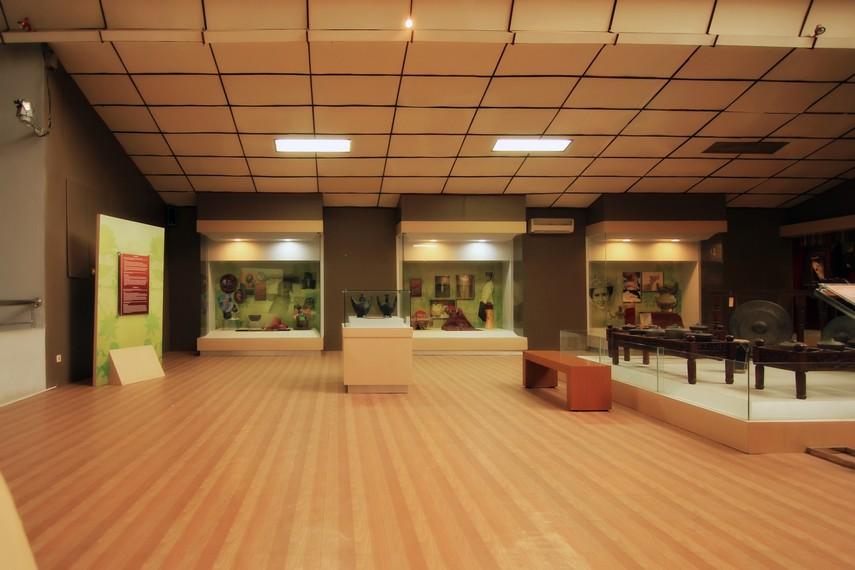 Salah satu sudut di ruang lantai 2 Museum Negeri Lampung