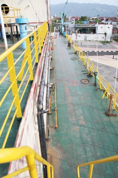 Sebelum terhempas tsunami, kapal dengan luas 1.900 meter ini menghasilkan daya hingga 10,5 megawatt untuk kebutuhan listrik Banda Aceh