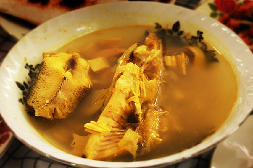 Gangan dibuat dari ikan tenggiri segar