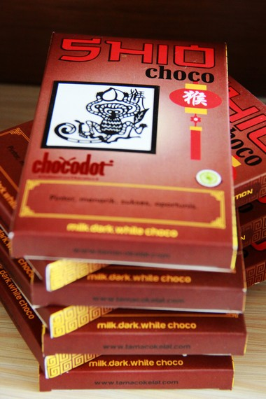 Shio menjadi salah satu inspirasi dalam pemilihan nama untuk menarik perhatian para penikmat coklat