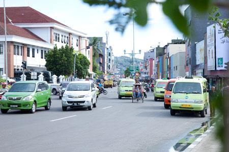 Situasi Lalu Lintas Kota Ambon