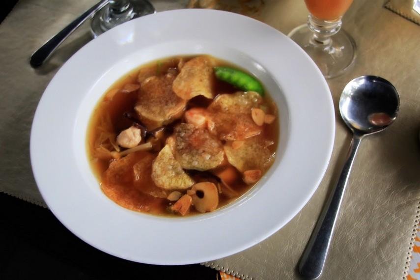 Soup Timlo menjadi menu masakan kesukaan Sri Sultan Hamengku Buwono X