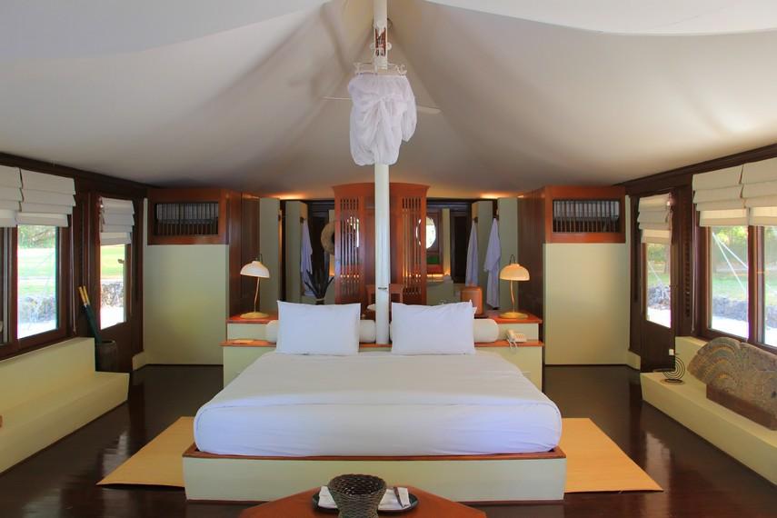 Suasana kamar Amawana Resort yang tarifnya mencapai US$800 per malam