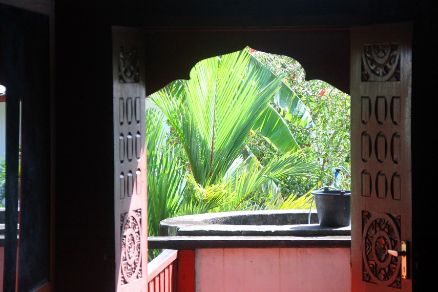 Sumur di sisi belakang rumah Cut Nyak Dhien