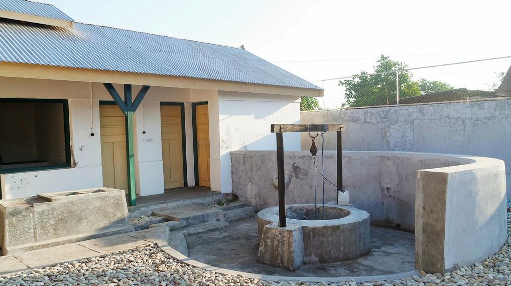 Sumur yang dipergunakan oleh Bung Karno untuk mandi, cuci dan minum serta wudhu dengan kedalaman sumur sedalam 12 m