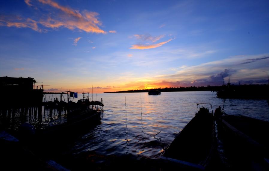 Sunset di Kota Agats-Asmat